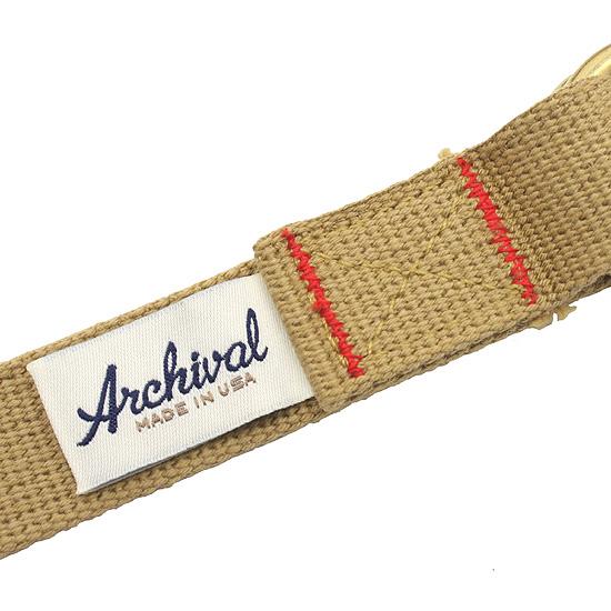 Archival Clothing[アーカイバルクロージング]ウェビングベルト