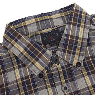 BEAUTIFICAL[ビューティフィカル]チェックBDシャツ