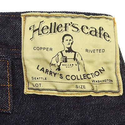 Heller's cafe[ヘラーズカフェ]ノンパレイルウエストオーバーオール