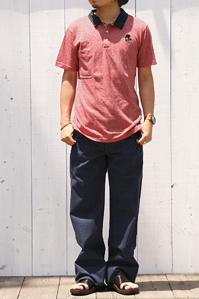 Heller's cafe[ヘラーズカフェ]ワークパンツ(1920's BOTH SIDES BUCKLE WORK PANTS)HC-029