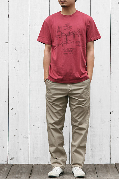 SASSAFRAS[ササフラス]BIB POCKET-T SF-12652
