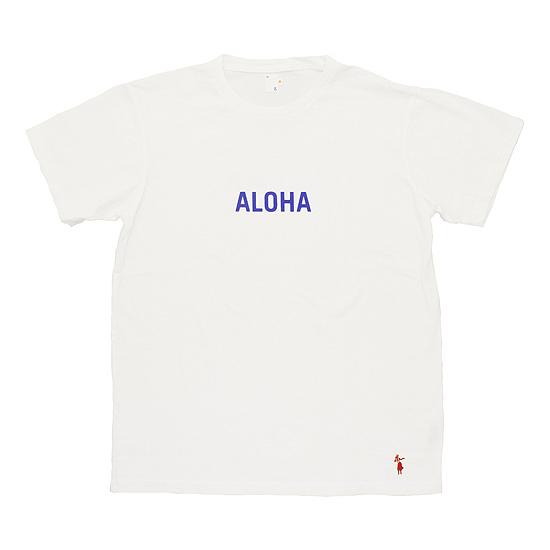 grown in the sun[グローンインザサン]プリントTee ALOHA‐SS