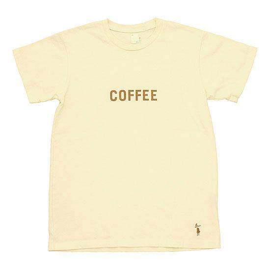 grown in the sun[グローンインザサン]プリントTee COFFEE‐SS