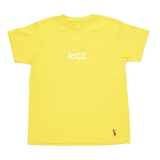 grown in the sun[グローンインザサン]プリントTee RICE‐SS
