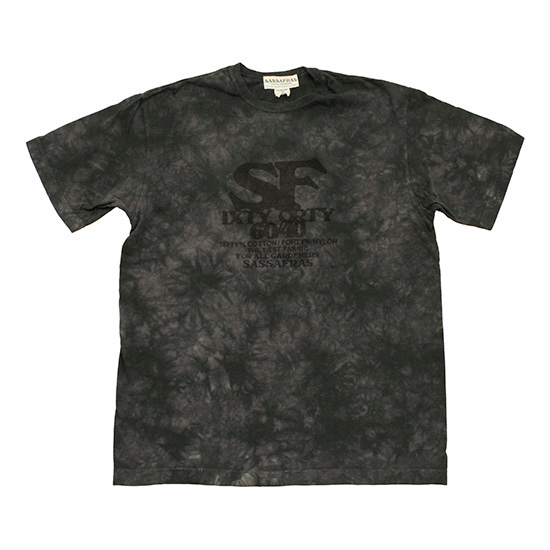 SASSAFRAS[ササフラス]SIXTY/FORTY TEE SF-13826
