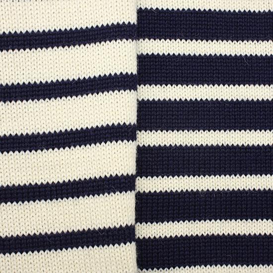 GUERNSEY[ガンジー]セーター ボーダー
