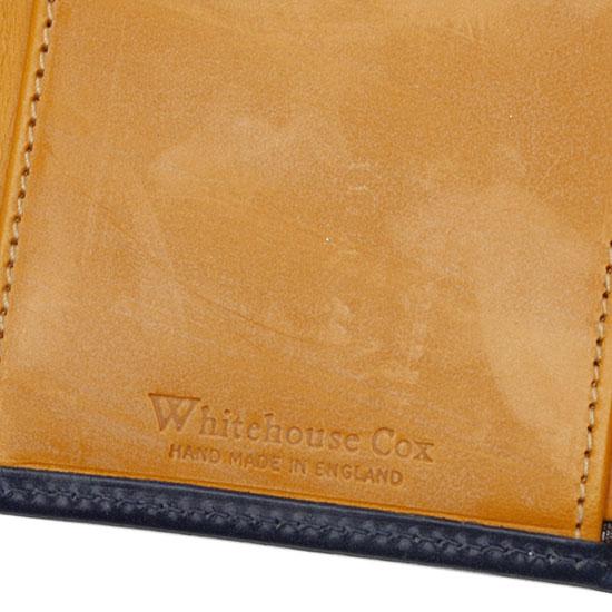Whitehouse Cox[ホワイトハウスコックス]3つ折りウォレット S7660(ホリデーライン2013)