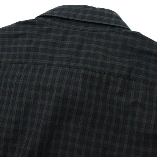 Direction[ディレクション]ブラックウォッチB.Dシャツ