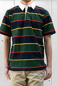 BARBARIAN[バーバリアン]ラガーシャツS/S GCSS-085 LSS05