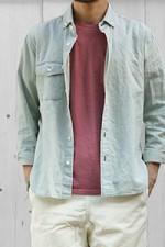 【送料無料♪】Direction[ディレクション]6ozデニムB.Dシャツ MS140504