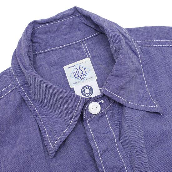 POST O'ALLS[ポストオーバーオールズ]ニューライトシャツ S/S