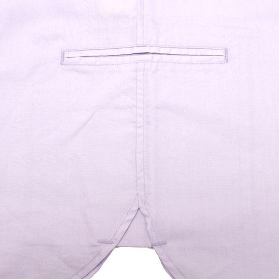 meanswhile[ミーンズワイル]シェードオフストライプピンタックシャツ MW-SH14203