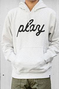 PLAY DESIGN[プレイデザイン]プルオーバースウェットパーカー P01-13ST216C