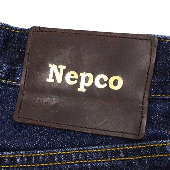 NEPCO[ネプコ]ランダムパターン ストレートジーンズ SA-496