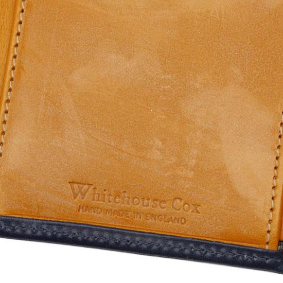 Whitehouse Cox[ホワイトハウスコックス]3つ折りウォレット S7660(ホリデーライン2014)