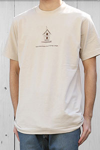 """MOUNTAIN RESEARCH[マウンテンリサーチ]S/S Tee """"Flying Lodge"""" MTR-1711"""