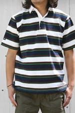 BARBARIAN[バーバリアン]ラガーシャツ GNBSS5