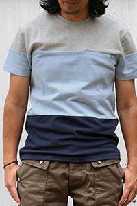 KESTIN HARE[ケスティン・エア]ジップポケットTシャツ