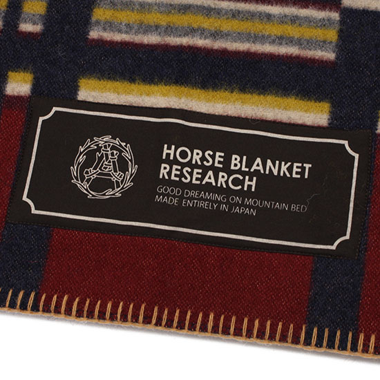 HORSE BLANLET RESEARCH[ホースブランケットリサーチ]JACQUARD070
