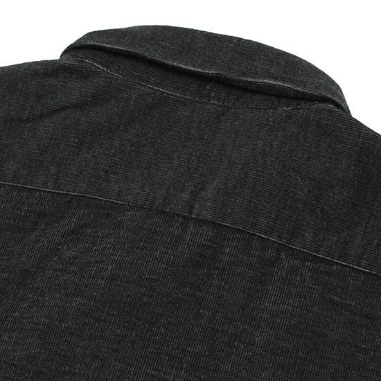 【送料無料♪】Direction[ディレクション]コーデュロイB.Dシャツ チャコールメランジェ