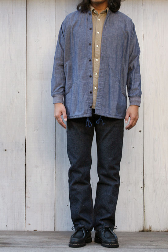 senelier[セネリエ]squaters shirts Chambrey