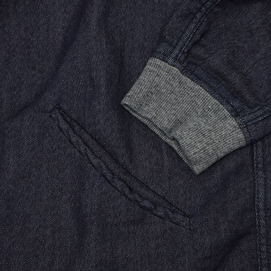 senerie[セネリエ]squaters shirts fake sweat denim