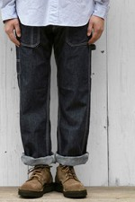 SASSAFRAS[ササフラス]FALL LEAF GARDENER PANTS 10.5OZ DENIM 161077