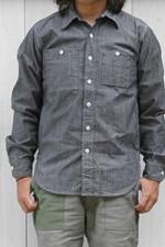 Engineered Garments[エンジニアド ガーメンツ]WORK SHIRTS CONE CHAMBREY