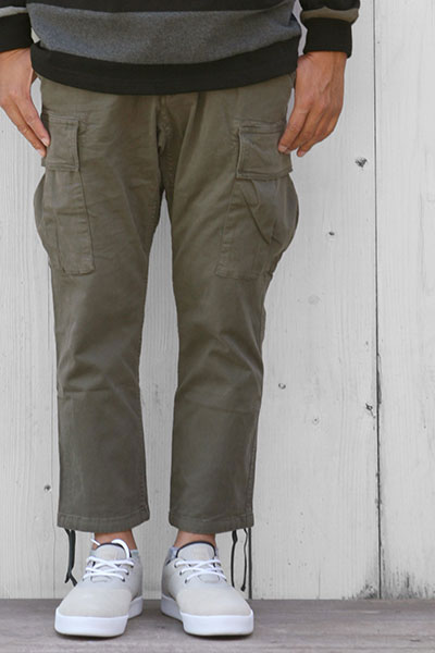 GRAMICCI[グラミチ]MIL CROPPED PANTS GMP-16F001