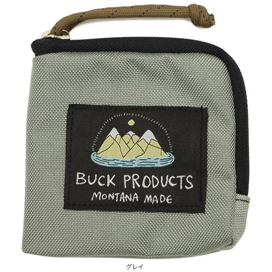BUCK PRODUCTS[バックプロダクツ]ZIP WALLET
