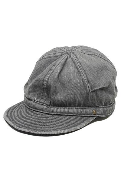 DECHO[デコー]TUCK KOME CAP VINTAGE WASH DEN01W