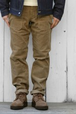 SASSAFRAS[ササフラス]FALL LEAF SPRAYER PANTS 161157 CORDUROY