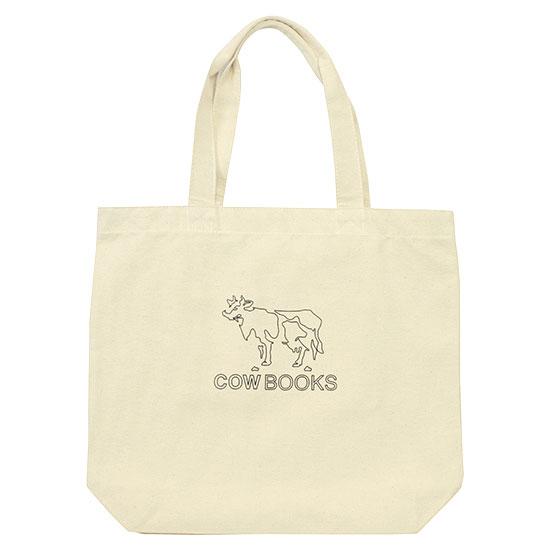 COW BOOKS[カウブックス]LOGO TOTE