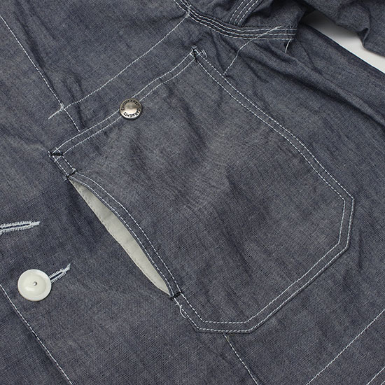 Engineered Garments[エンジニアド ガーメンツ]COVERALL JACKET CONE CHAMBRAY