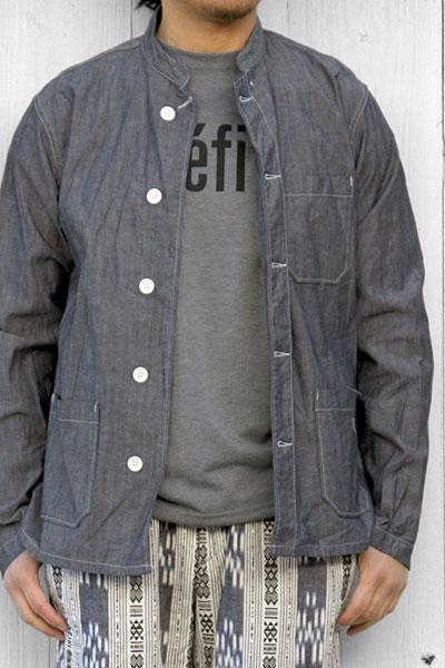 Engineered Garments[エンジニアド ガーメンツ]DYATON SHIRT CONE CHAMBRAY