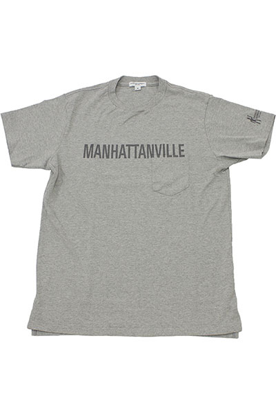 Engineered Garments[エンジニアド ガーメンツ]MANHATTANVILLE POCKET T-SHIRT