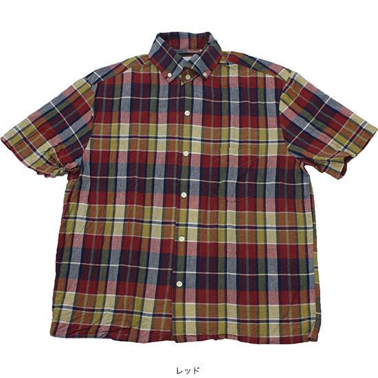 melple[メイプル]マドラスイタリアンB.Dシャツ MP021