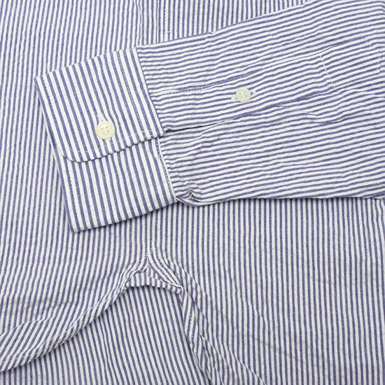 melple[メイプル]シアサッカークレイジーシャツ