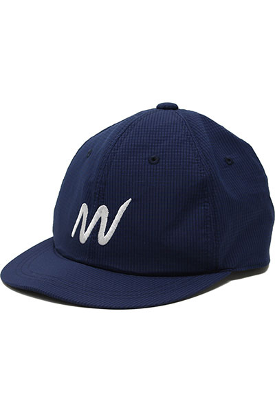 meanswhile[ミーンズワイル]WATER REPELLENT DOT MESH BB CAP