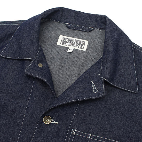 Engineered Garments[エンジニアド ガーメンツ]WORKADAY SHOP COAT 6.5OZ