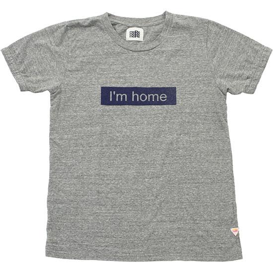 melple[メイプル]I'm home Print T-shirt