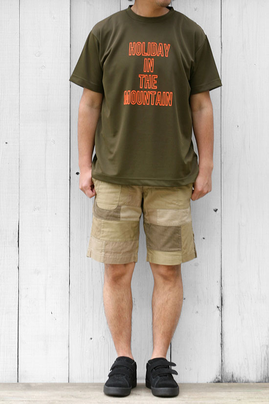 MOUNTAIN RESEARCH[マウンテンリサーチ]PATCHED SHORTS 2147