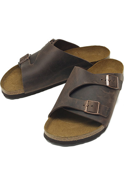 BIRKENSTOCK[ビルケンシュトック]ZURICH OILED LEATHER HAVANA