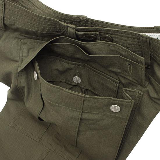 SASSAFRAS[ササフラス]TRUG PAD PANTS 1/2 CORDURA RIPSTOP
