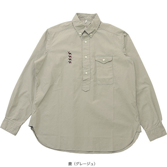 MOUNTAIN RESEARCH[マウンテンリサーチ]BD PULLOVER SHIRT