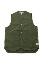 SASSAFRAS[ササフラス]Fall Leaf Gardener Vest 171252