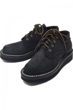 NICKS BOOTS[ニックスブーツ]OXFORD BLACK ROUGH OUT WIDTH D