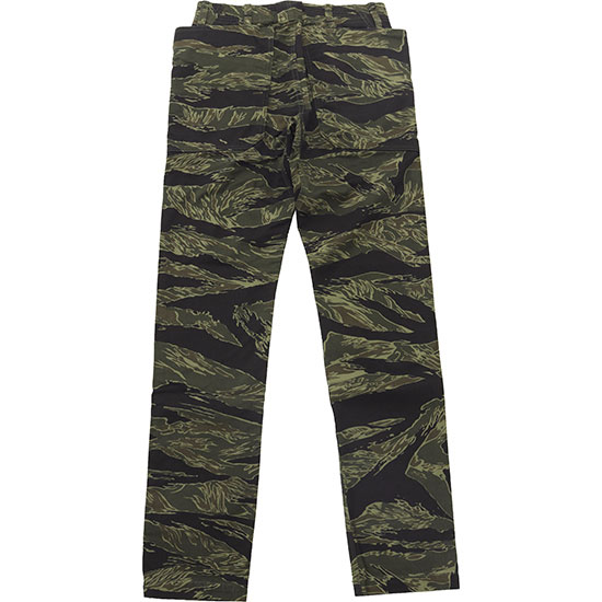 SASSAFRAS[ササフラス]Fall Leaf Sprayer Pants Tiger Twill