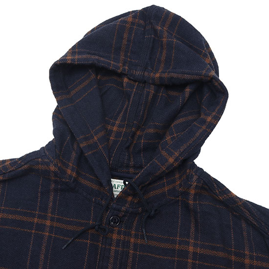 SASSAFRAS[ササフラス]Feel Sun Bud Half Herringbone Flannel