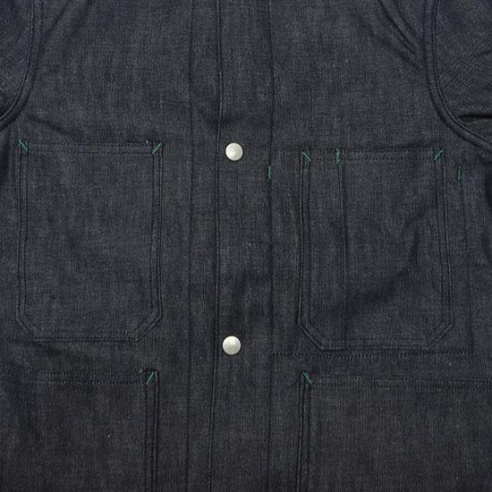 SASSAFRAS[ササフラス]Green Thumb Jacket 8oz Denim